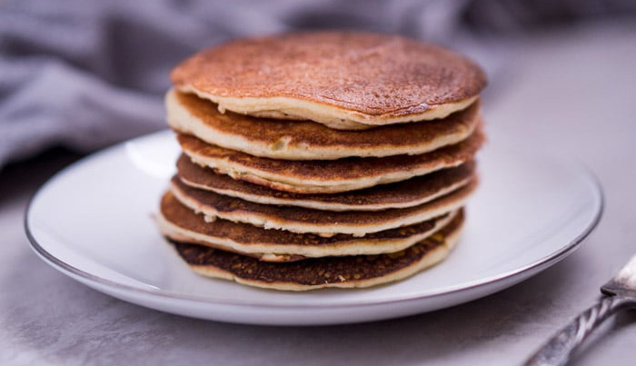 Decadent Low Carb Pancakes