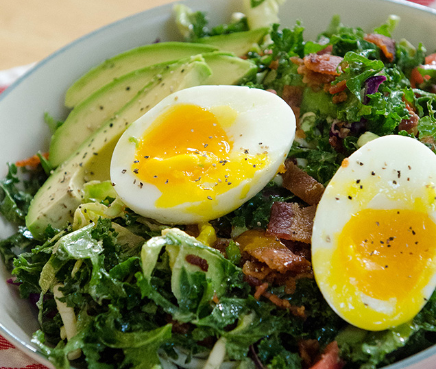 Keto BLT Breakfast Salad