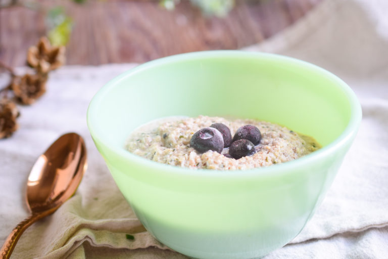 Keto-Friendly Mock Oatmeal
